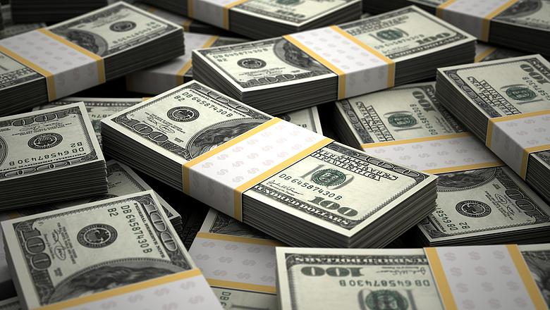 pénzt dollár